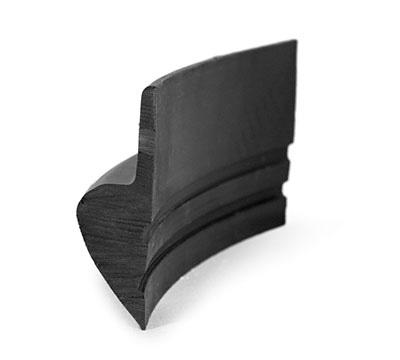 Formseal Garage Door Seal - Rubber Seal bottom