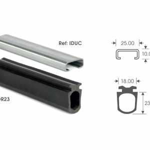 IDUC with IDR23 with dimensions - Formseal
