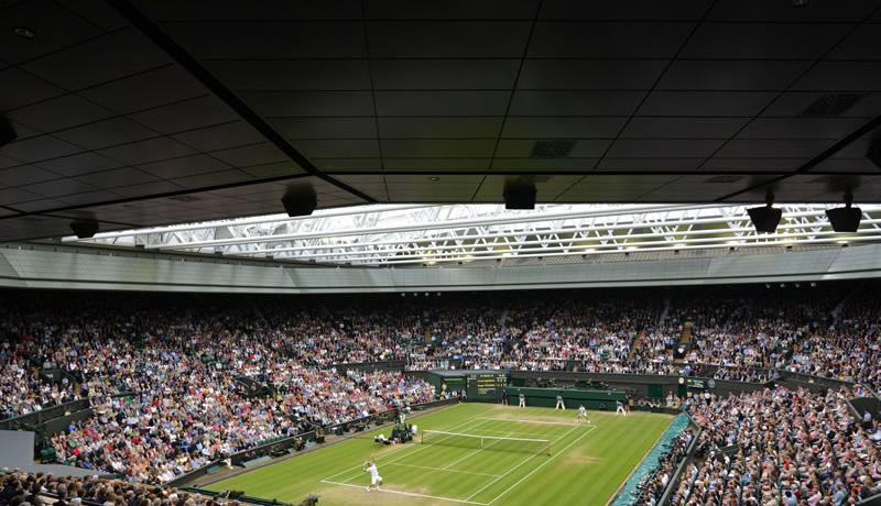 Wimbledon Centre Court Sliding Roof - FORMSEAL